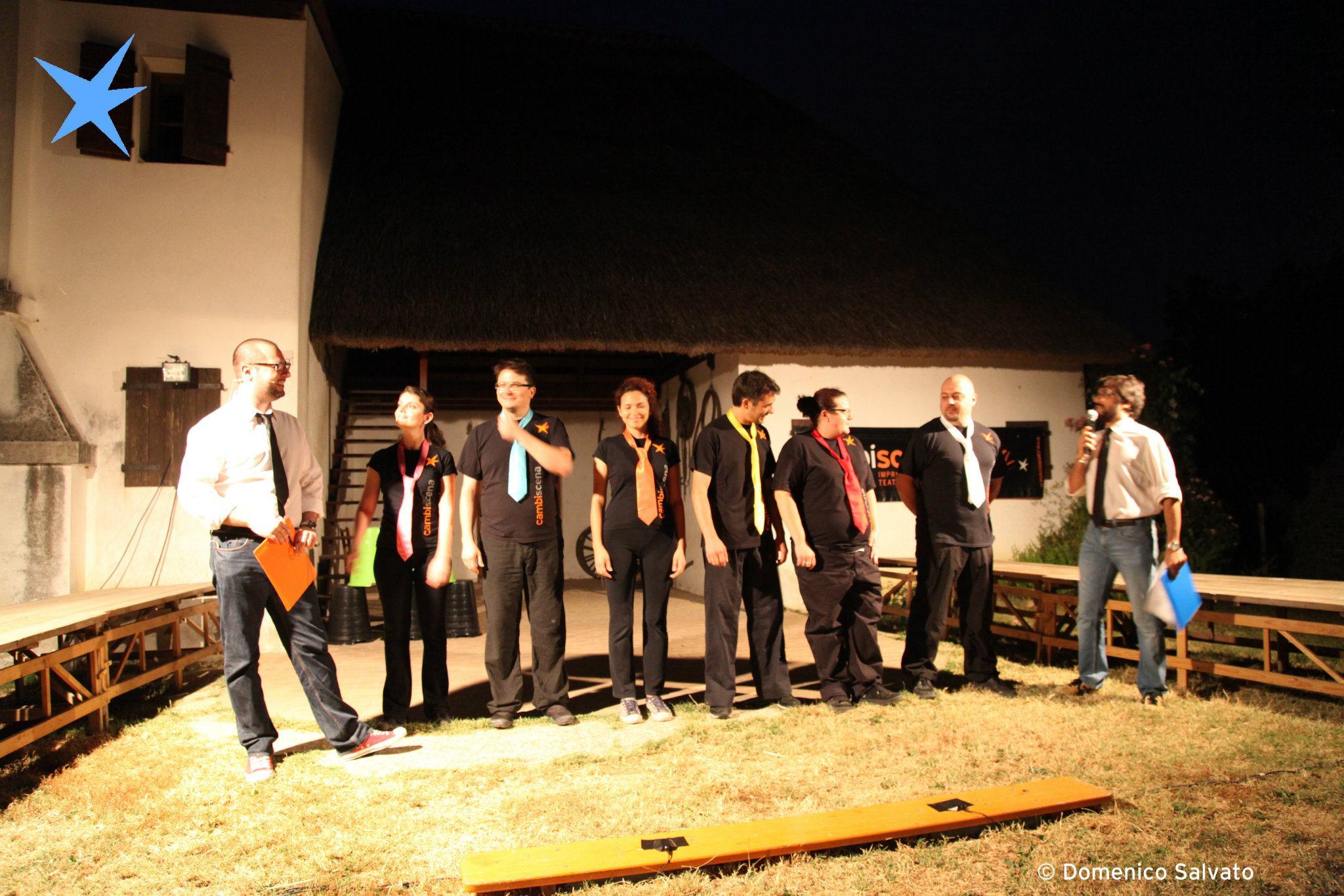 Marted 25 luglio improvvisazione teatrale con cambiscena - Osteria di fuori porta padova ...